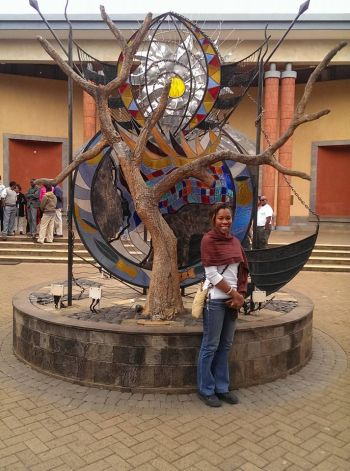 For Ms Shaina M. Smith it was her first venture to Kenya and she said,