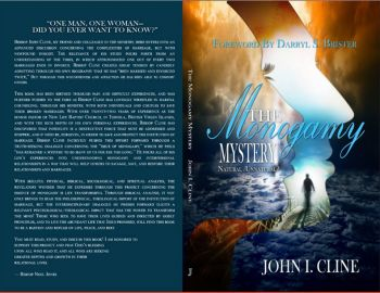 """The book carries fully glossed covers with illustrative artwork designed by Pamela S. Almore on the front while the back asks the question by Bishop Noel Jones, """"One man, One woman – Did you ever want to know?"""" Photo: Provided"""