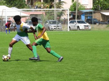 The U15 and U17 teams of Tortola and Virgin Gorda will be locked in battle again on October 31, 2020 in Virgin Gorda. Photo: Cathie Caine
