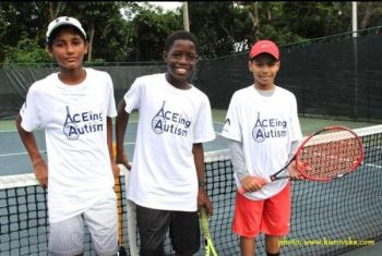 Ikyjah admitted that growing up his dream profession was becoming a professional sports player. 'I was one of the best tennis players in the BVI.' Photo: Facebook