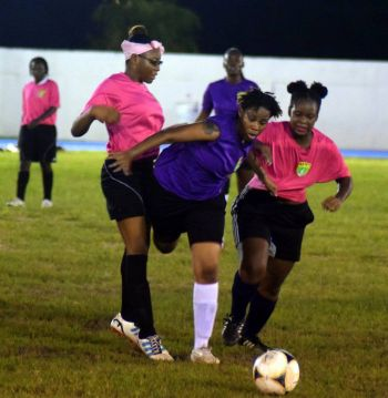 The Women's Football League follows the highly successful Women's Festival Cup and the increasingly popular National Team training programmes both on Tortola and Virgin Gorda. Photo: BVIFA/File
