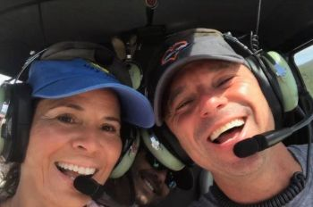 Country music star and regular visitor to the US Virgin Islands, Kenny A. Chesney, right, in a post on Facebook Monday evening, February 15, 2021, said he was saddened by the death of his friend and pilot Maria Rodriguez, left. Photo: Facebook