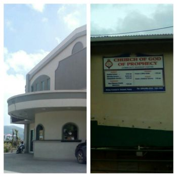 Following the passage of hurricane Irma on September 6, 2017 that displaced many residents, the Multipurpose Sports Centre and Church of God of Prophecy in East End has been used as a shelter. Photo: VINO