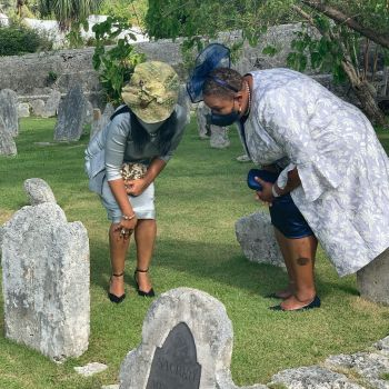 Even in death, our ancestors were buried in a separate section all together from those early colonials. Photo: Provided
