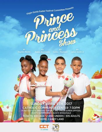 Contestants for the Prince and Princess Show will compete in Introductory, Talent, Creative and Evening/Formal Wear segments. Photo: Provided