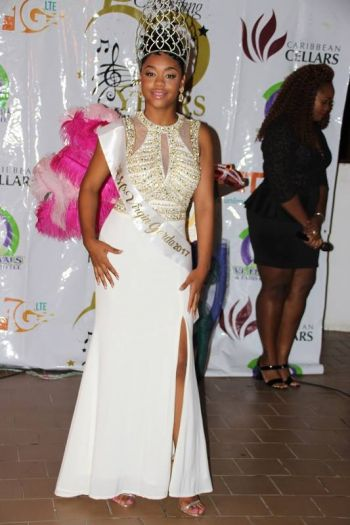 2017 Miss Virgin Gorda Easter Festival Alondra C. Ephraim is a Client Service Representative at the BVI Health Services Authority (BVIHSA). Photo: VINO