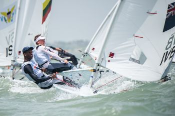 Virgin Islands sailing stalwart, Mr Thad A. Lettsome at 17 years of age, will make history for the VI as the first sailor since the 1990s to represent the VI at the Pan Am Games. Photo: Provided