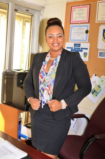 Quéyanna has risen to her calling in working as an Intelligence Crime Analyst with the Royal Virgin Islands Police Force (RVIPF). Photo: Provided