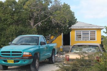 The home of the Clinton's in The Settlement, Anegada. Photo: VINO