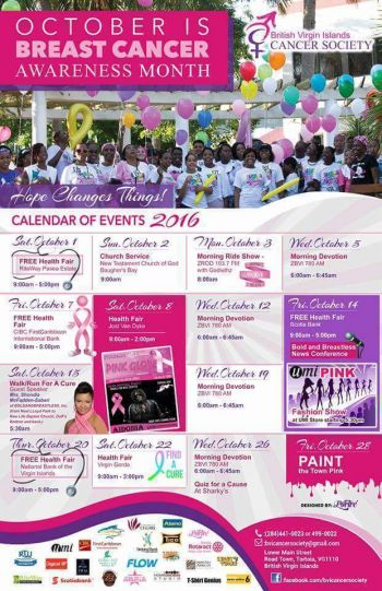 A number of events will be held in recognition of Breast Cancer Awareness Month. Photo: Provided