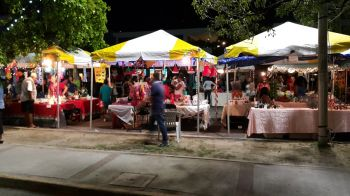 People were busy buzzing around the various stalls. Photo: VINO