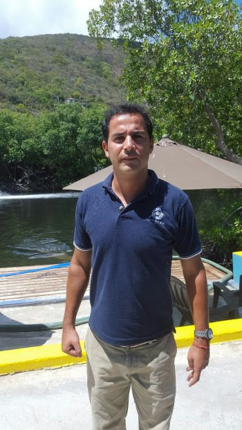General Manager of Dolphin Discovery Emmanual Gilbert. Photo: VINO