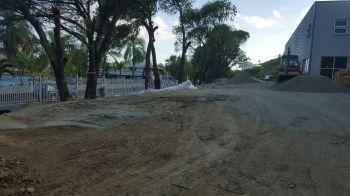 Landscaping works also underway. Photo: VINO
