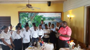 A number of young people of the territory made their parents proud when they took away prizes and trophies for completing and excelling in being junior chefs and waiters yesterday November 1, 2015. Photo: VINO