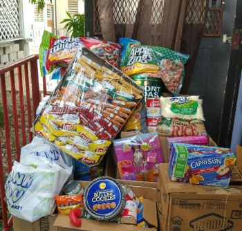 Some of the donated items. Photo: VINO
