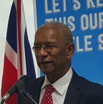The Premier at an event to announce the joint venture on January 12, 2016 said the Government was pumping $7 million into the venture, even though passenger numbers could not be guaranteed. Photo: VINO/File