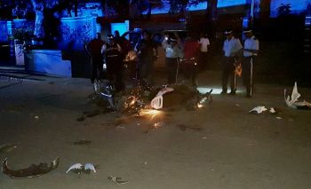 Police cordoned off the area following the accident at the Sunday Morning Well. Photo: Team of Reporters
