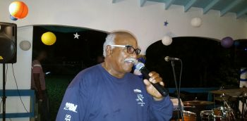 "Speaking at the prize giving ceremony, Virgin Gorda patriarch Andy Flax said that it was a pity that anglers from St Maarten could not come down for the tournament because of the weather. ""They have been coming from the inception of it,"" he said. Photo: VINO"