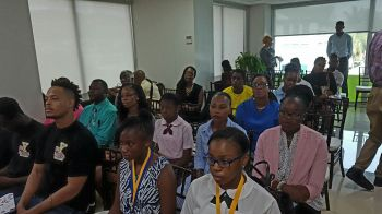 A section of the audience at yesterday's Emerging Fellows ceremony. Photo: VINO