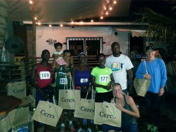 Ceres doled out a large amount of prizes to race winners and all participants. Photo: Provided