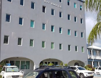 The building that houses the Department of Immigration: The raid was conducted on the Cox Heath home on August 28, 2017 after Immigration authorities reportedly received a tip-off. Photo: VINO/File