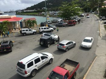 The accident occurred in the vicinity of the Road Town Ferry Dock. Photo: Team of Reporters
