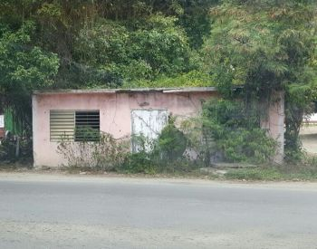 The building in Sea Cows Bay where Mr John Williams Nibbs aka Johnny Forbes' sold grocery and other items for many years. Photo: Team of Reporters