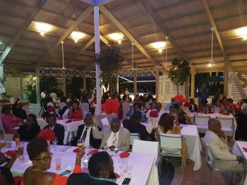 The BVI Seventh-day Adventist School's first ever fundraising gala dinner was supported by a number of persons. Photo: VINO