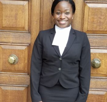 K'Nesha A. Greenaway was called to the Bar of the British Virgin Islands on June 8, 2017. Photo: Provided