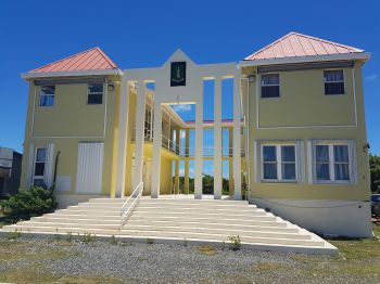 The Anegada Administration Complex in The Settlement. Photo: VINO