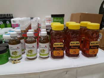 Some more products available at G. Organic Herbal Center BVI Limited in Free Bottom. Photo: VINO