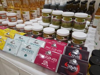 Some of the 'natural products' available at G. Organic Herbal Center BVI Limited in Free Bottom, Tortola. Photo: VINO