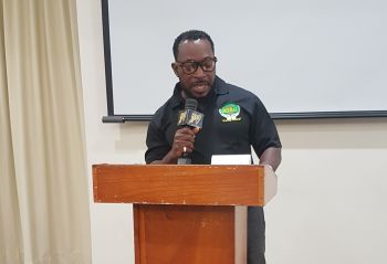 Marketing Director of G. Organic Herbal Centre BVI Limited, Mr Matthew Daly said medications are 'killing more than saving our lives'. Photo: VINO
