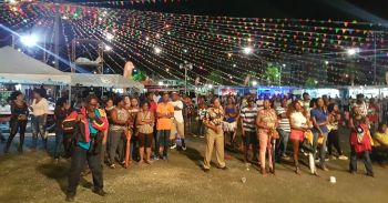 Many turned out last evening August 2, 2017 to witness the 2017 Calypso Competition. Photo: VINO