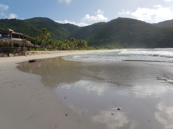 Josiah's Bay beach on Tortola, Virgin Islands. Photo: VINO
