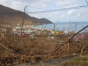 Virgin Islands News Online did not escape the wrath of Hurricane Irma on September 6, 2017. Photo: VINO