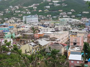 The Virgin Islands was ravaged by Hurricane Irma on September 6, 2017 but is now seeking to rebuild. Photo: VINO