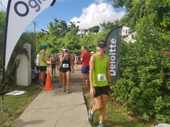 Completing 13.1 miles (12th BVI Half Marathon). Photo: VINO