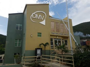 The Department of Motors Vehicles (DMV) has suspended the issuance of new drivers' licenses until the road conditions in the Virgin Islands are improved and made safe enough to conduct proper road and cone testing. Photo: VINO
