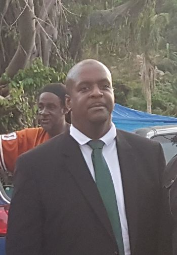 Opposition Leader Hon Andrew A. Fahie (R1) continues to call out the National Democratic Party Government for its lack of transparency and accountability. Photo: VINO