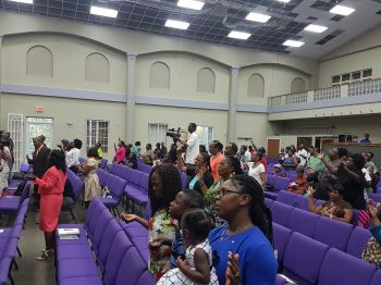 The Third Annual Territorial Interdenominational Service of Thanksgiving and Intercession was held at the New Testament Church of God International Worship Centre in Baughers Bay, Tortola, on Sunday, February 4, 2018. Photo: VINO