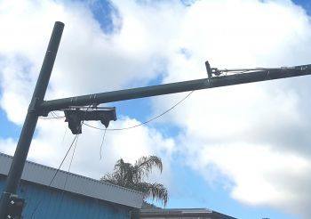 CCTV Cameras across the Territory have not been restored since hurricanes Irma and Maria in September 2017. Photo: VINO