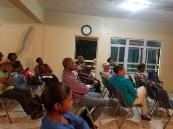 Some of the attendees at the General Meeting of the BVI Diabetes Association- Western Branch at the Carrot Bay Seventh-day Adventist Church Youth Centre on May 10, 2018. Photo: VINO