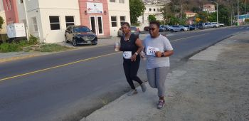 Some of the participants of the annual Caribbean Insurers Limited (CIL) Charity 5K Run/Walk held on Saturday May 18, 2019. Photo: VINO