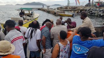 Scenes of the Oliver Turnbull aka 'Ollie' Fisherman's Tournament in Carrot Bay today, August 8, 2019. Photo: VINO