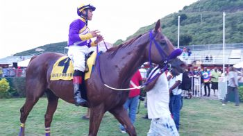 Thulean with jockey Angel Moreno. Photo: VINO