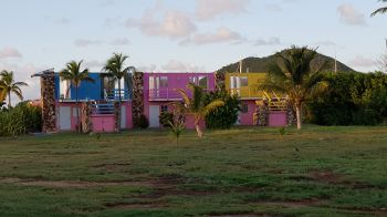 A building on Virgin Gorda yet to be repaired following the hurricanes of 2017. Photo: VINO