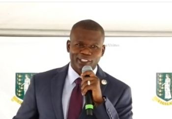 Minister for Transportation, Works and Utilities Honourable Kye M. Rymer (R5) said the new Road Town Market Square will be a critical step for the Virgin Islands in stimulating economic growth when it is completed in nine months. Photo: Facebook