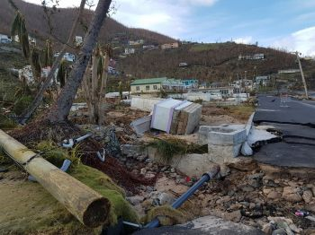 The Recovery and Development Plan was submitted by the Government of the Virgin Islands to the United Kingdom (UK) as part of its request to draw down on the £300 UK Loan Guarantee to assist the Virgin Islands to recover and develop from the devastation of hurricanes Irma and Maria in September 2017. Photo: VINO/File