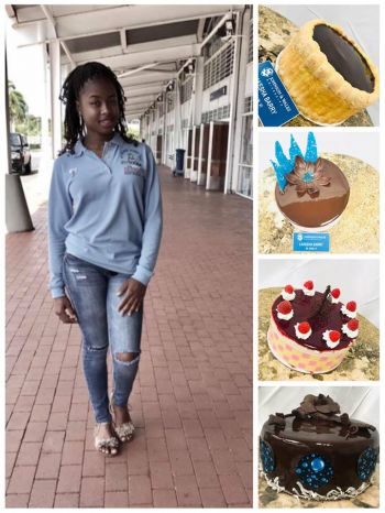 Lakesha M. Barry is the proud owner of Kesha's Treats which caters to birthday parties, baby showers and special events. Photo: Provided